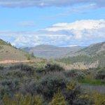 Looking back towards Blue Mesa