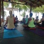 Beachfront Yoga Session