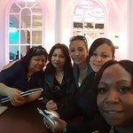 Celebrating my 40th at Capriccio's with the girls.