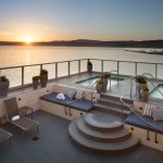 Our beautiful sun deck overlooking the majestic Monterey Bay