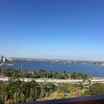 Great views of Perth and the Swan river