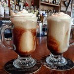 "Frozen Irish Coffee = ""Delicious! You need one!"""
