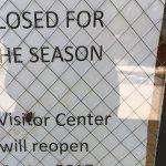 Closed sign May 3
