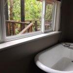 claw bathtub -comfy!