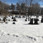 Winter at Mount Hope Cemetery
