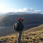 Cruce de los Andes a pie.