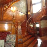 Magnificient Staircase To The 2nd Floor Of The Mansion