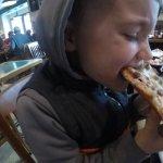 Sausage pizza!