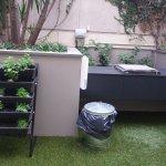 BBq & herb garden