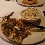 Trout and cole slaw