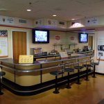 Whites only lunch counter