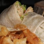 country chicken wrap