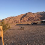 Stovepipe Wells Hotel - view of roadrunner rooms