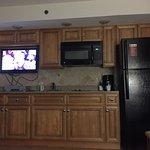 New flat screen in kitchen?