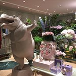 "This shop was called ""The Beast"" - a very eye-catching, whimsical flower shop"