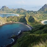 padar island. Be sure you come not in end of dry season cause view will be different.