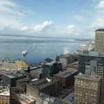 Panoramic view from the top of Smith Tower