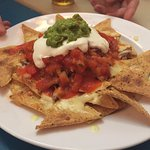 Nachos!! Very good and can share.