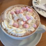 Super hot chocolate.