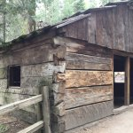 Log cabin with history