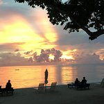 Palau Sunset at Dinner