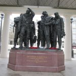 A visit to Marble Arch area, London, Bomber Command Memorial