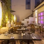 Terrasse restaurant les saveurs By Mercure Massy TGV