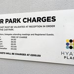 Car Park £200 fine for loss of ticket