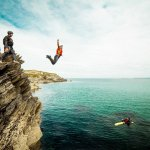 Newquay Coasteering: Challenge yourself with a Coasteering jump in Newquay.