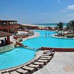 Bazény s mořskou vodou