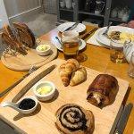 Fabulous pastry breakfast!