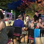 outdoor dining at Le Piment