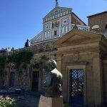 Jardin des roses , San Miniato Al Monte, Piazza michelangelo