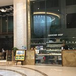 Shop in the lobby