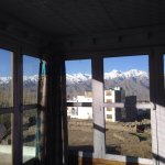 Room at Dorje's with a spectacular & unforgettable view of the Himalayas in Leh, Ladakh