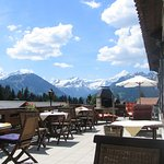 Azalée Restaurant : la terrasse