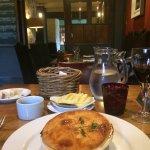 Delicious steak & hook norton pie