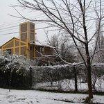 pocas veces se puede disfrutar  la nieve en Bermejo