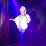 """""""Miss Marilyn"""" started the show off, AWESOME!"""