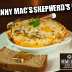 Our dinner size Shepherds Pie, comfort food at its finest.