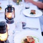 Plated Landscape dinner