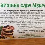 Hartley's card