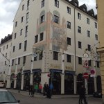 Charming exterior on Sparkanstrasse