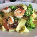 Broccoli and Shrimp Papperdelle