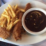 Chicken Fingers and Fries from kids menu