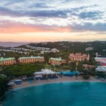 The Ritz-Carlton, St. Thomas from above.