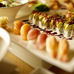 We fly fresh fish from all over the globe three times a week for our sushi.
