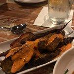 The best roasted carrots w/ harissa aioli