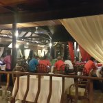 Seafood kelong restaurant at batam view beach resort