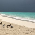 Even a passing rain shower is picturesque in Turks!